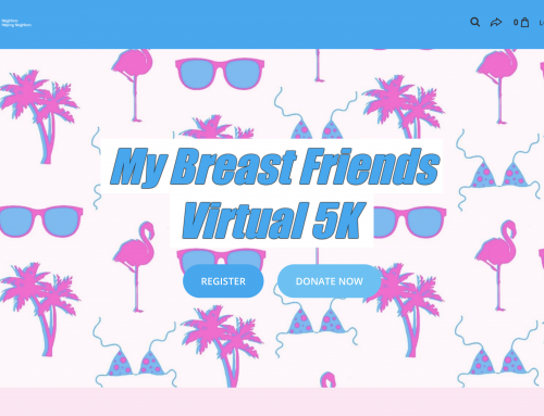 Registration open for My Breast Friends Virtual 5K Run/Walk